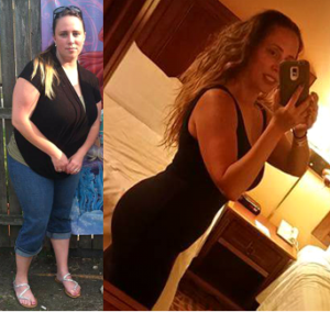 Vickie Before After Capri and Dress FINAL
