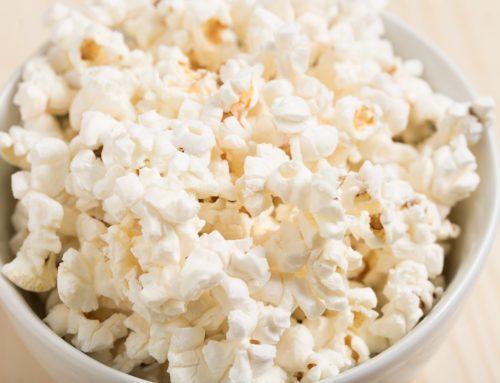Healthy Microwave Popcorn!