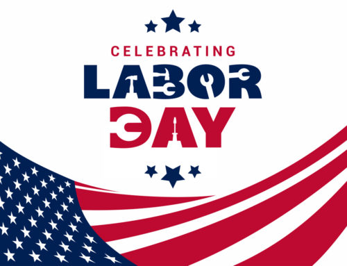 Closed for Labor Day – Monday, September 2nd 2019